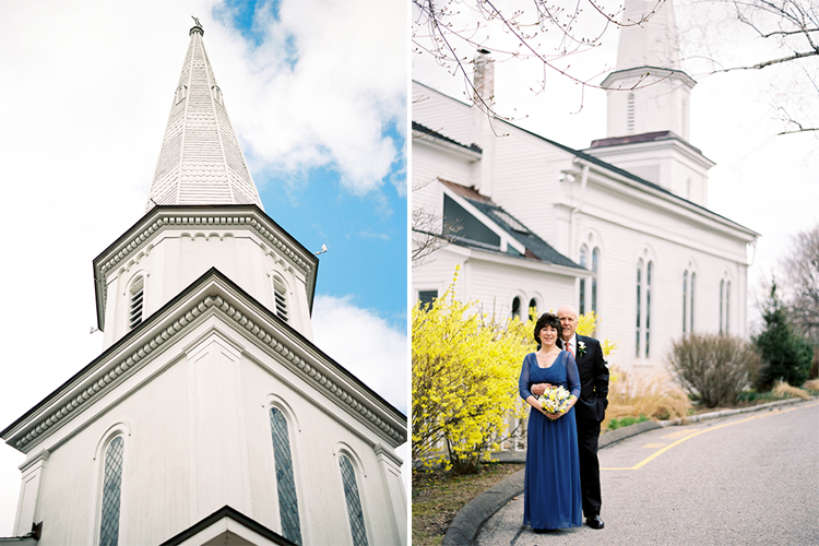 Wedding at St. Michael's Lutheran Church