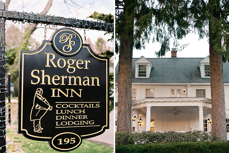 Wedding at Roger Sherman Inn