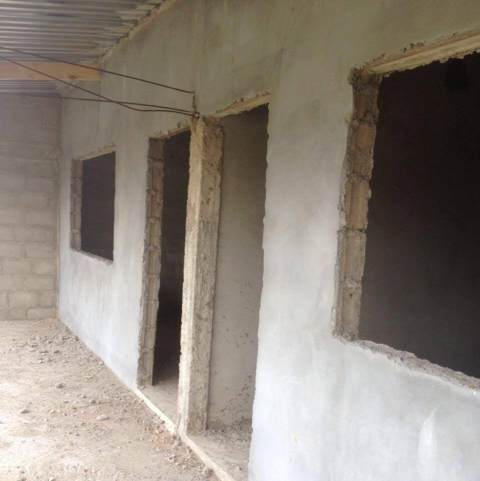 The contsruction of the two first class rooms of the pre-school where children will have the opportunity to grow and develop in the early stage of their lives