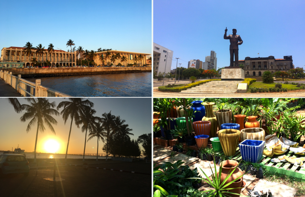 MAPUTO:a vibrant city and the capital of Mozambique -