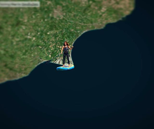 Good luck @lizzie_outside as she takes on the challenge of stand up paddle boarding the English Channel.  Crazy or inspiring, you decide 😮