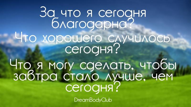 вопросы для дневника лайфстайл оксана новожилова dreambodyclub