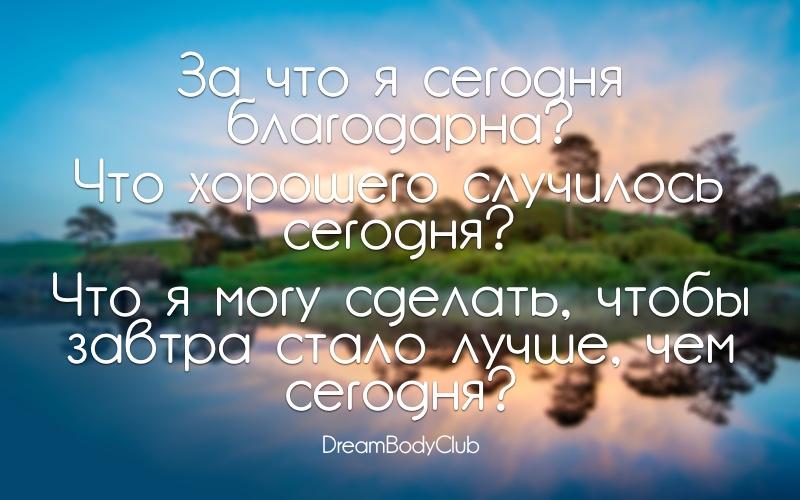 вопросы для дневника день 17 лайфстайл оксана новожилова dreambodyclub