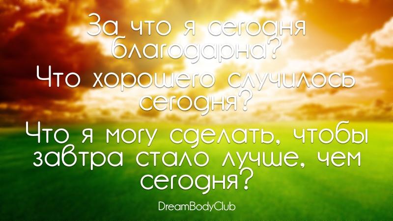 вопросы для дневника лайфстайл день 20 оксана новожилова dreambodyclub