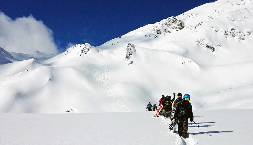 Creating a buddy line in Mayrhofen