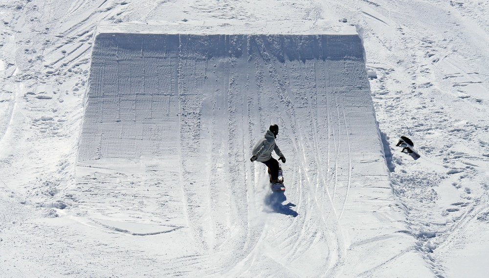 Regular rider preparing for a frontside spin