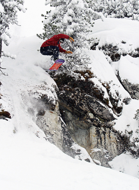 Jamie Nicholls dropping with us last winter