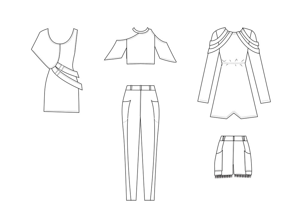 Cads Back: Outfit 4, 5 and 6