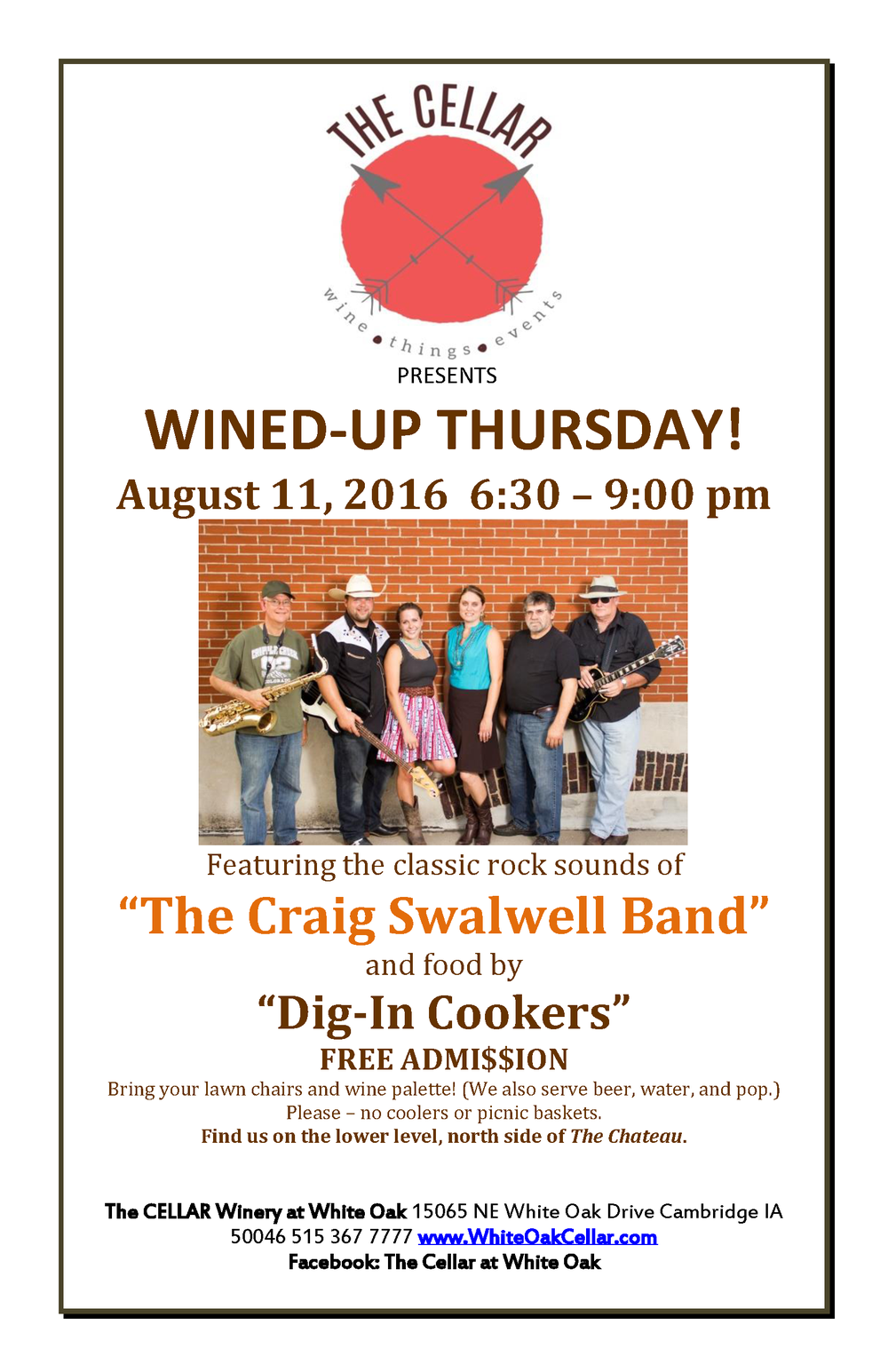 The-Cellar-Wined-Up-Thursdays-The-Craig-Swalwell-Band