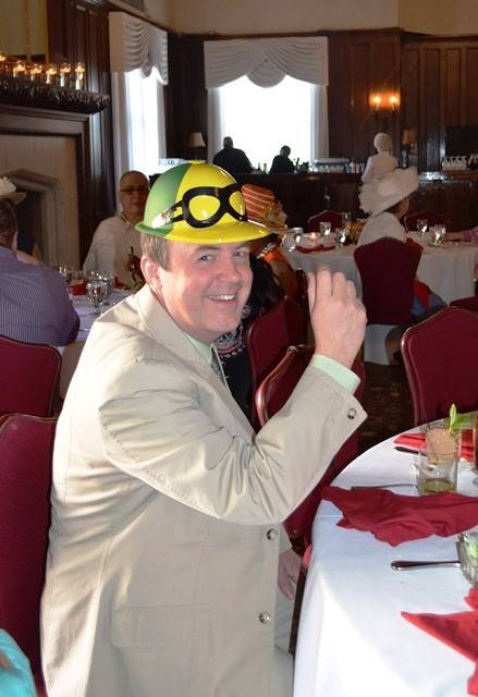 Mike Wasniowski at Derby Day.