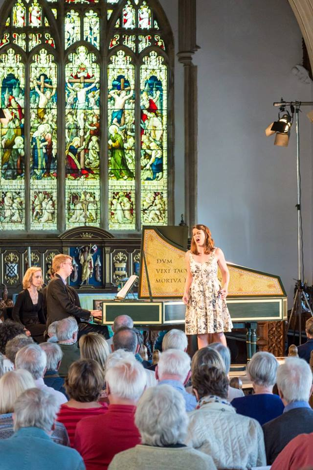 Singing some Handel in Aldeburgh