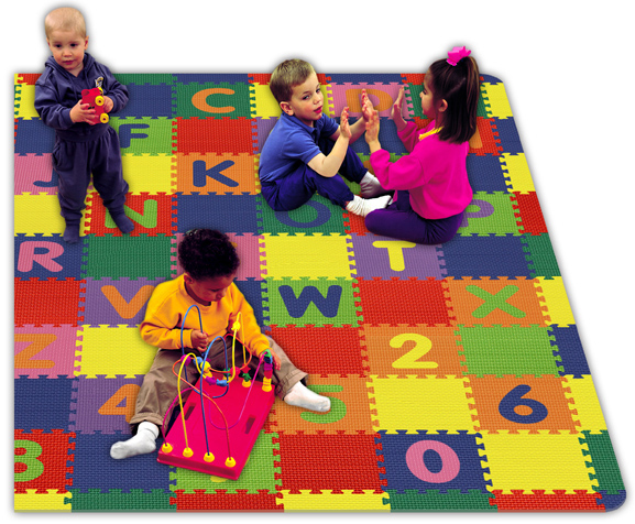 Rubber Children's Flooring