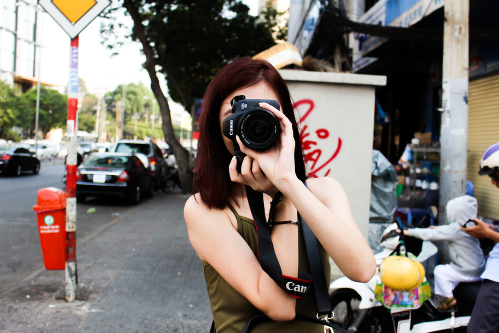 The lady behind all the pictures of me on this trip - @luxmondi