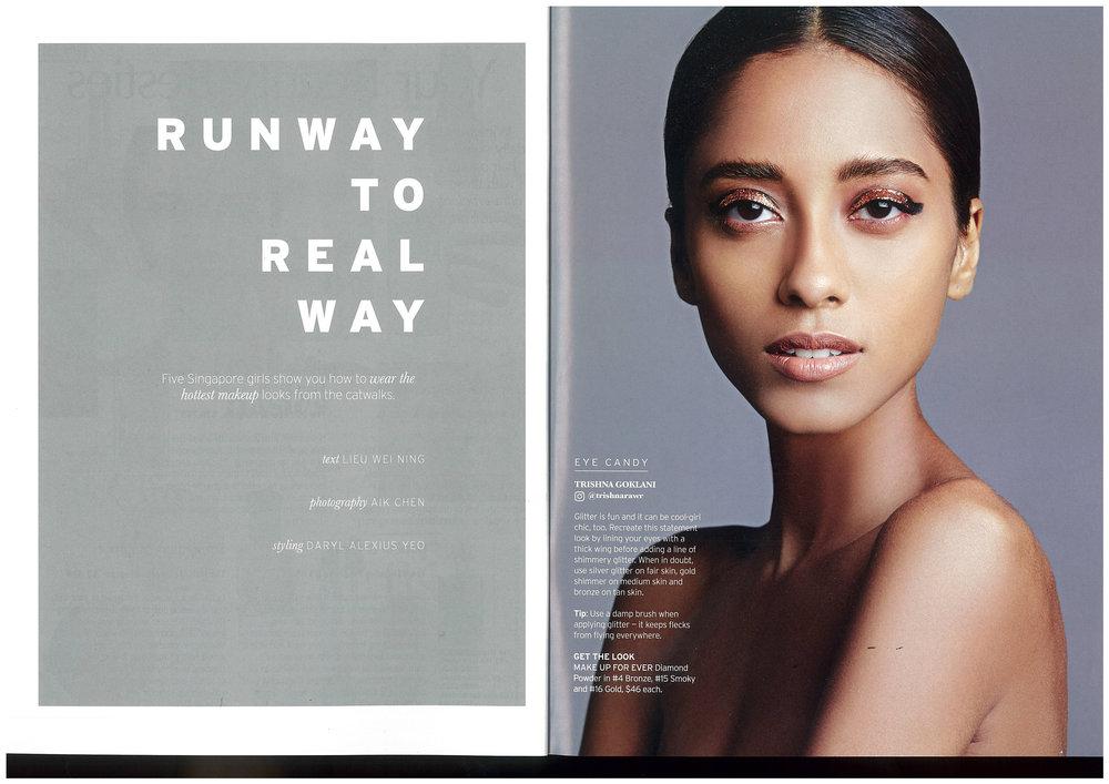 Elle Magazine, Beauty Book (2016)
