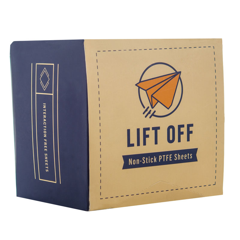 Lift Off Non-Stick 4x4 PTFE Concentrate Sheets   (1000 qty) - $119.99 ($0.12/unit)  PTFE (polytetrafluoroethylene), 4 packs of 250, silicone-free