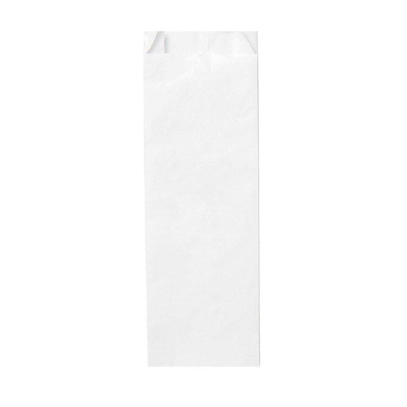 "Small Rx Paper Exit Bags   (3000 qty) - $99.99 ($0.03/unit)  Blank White, Generic Pharmacy, 3.5"" x 1.42"" x 10.43"""
