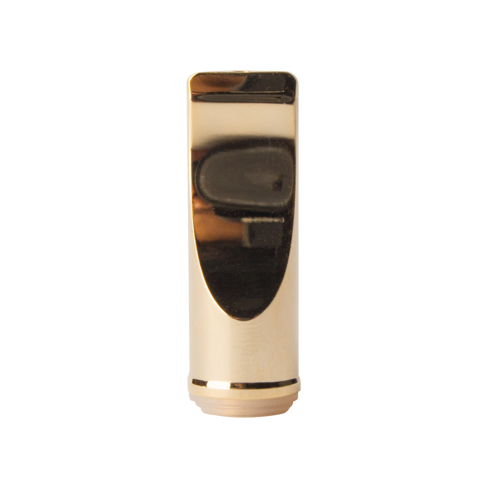 Flat Gold Mouthpiece for Glass CCELL Cartridges   (200 qty) - $158.00 ($0.79/unit)  Minimum order = 1200 units
