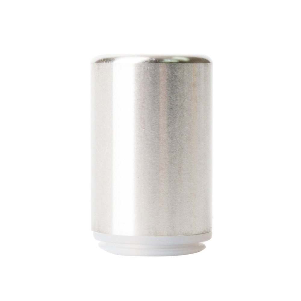 Barrel Metal Mouthpiece for Glass CCELL Cartridges   (200 qty) - $100.00 ($0.50/unit)  Minimum order = 1200 units