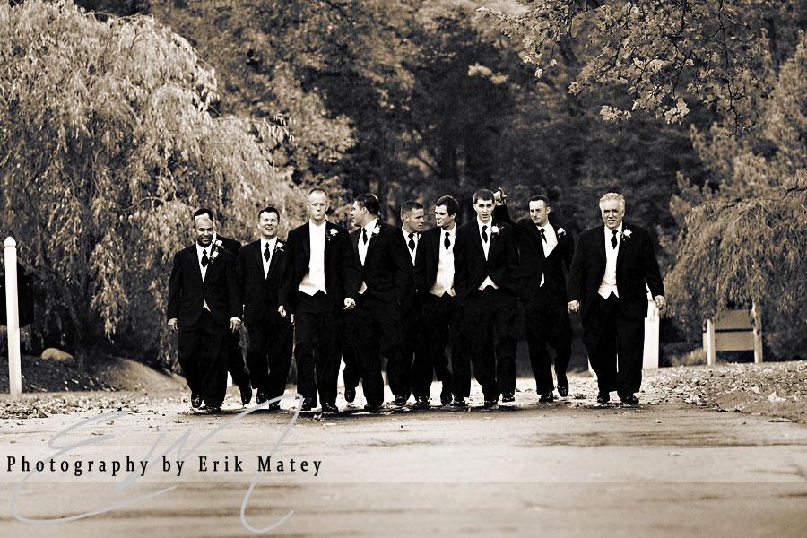 groom and guys