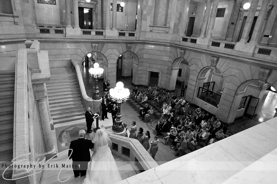 luzerne county court house wedding