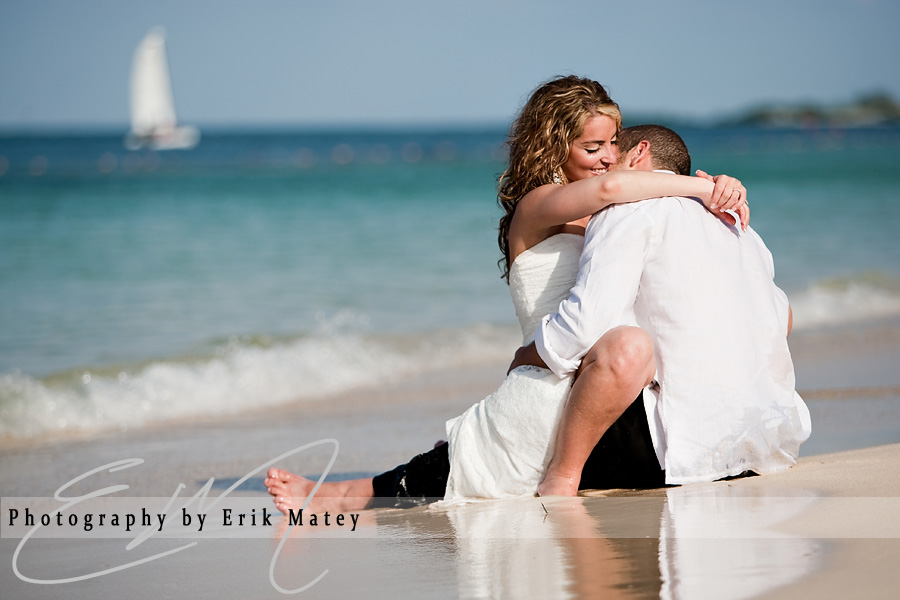 jamaica beach wedding photos