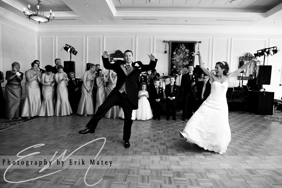 choreographed first dance bride and groom