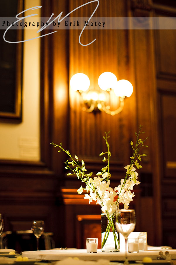 philadelphia wedding reception details