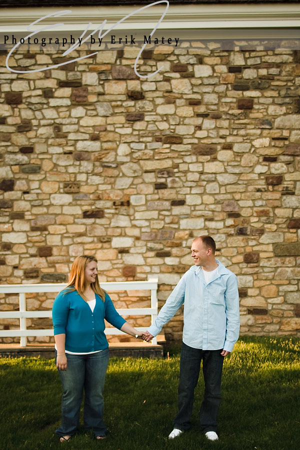 Bucks County engagement photographer