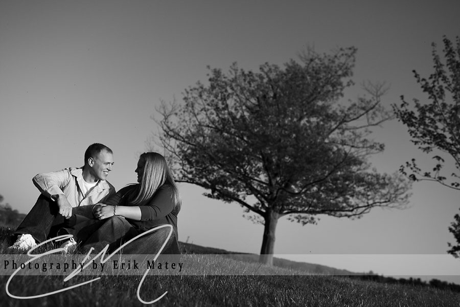 park engagement session