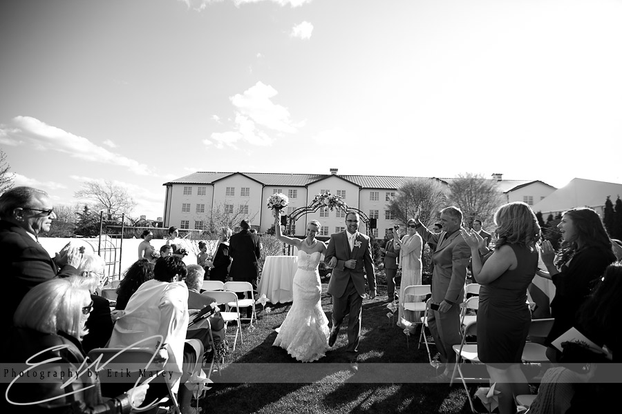 Wedding at Normany Farms