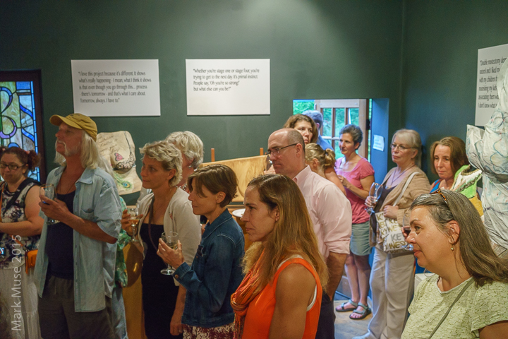 The Bridge Gallery Exhibition, Aug. 2015