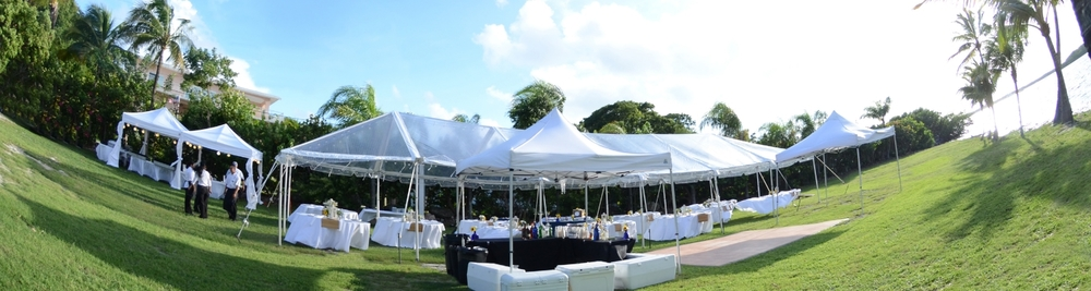 Tent Rentals, Florida Keys, Coral Keys Party Rentals