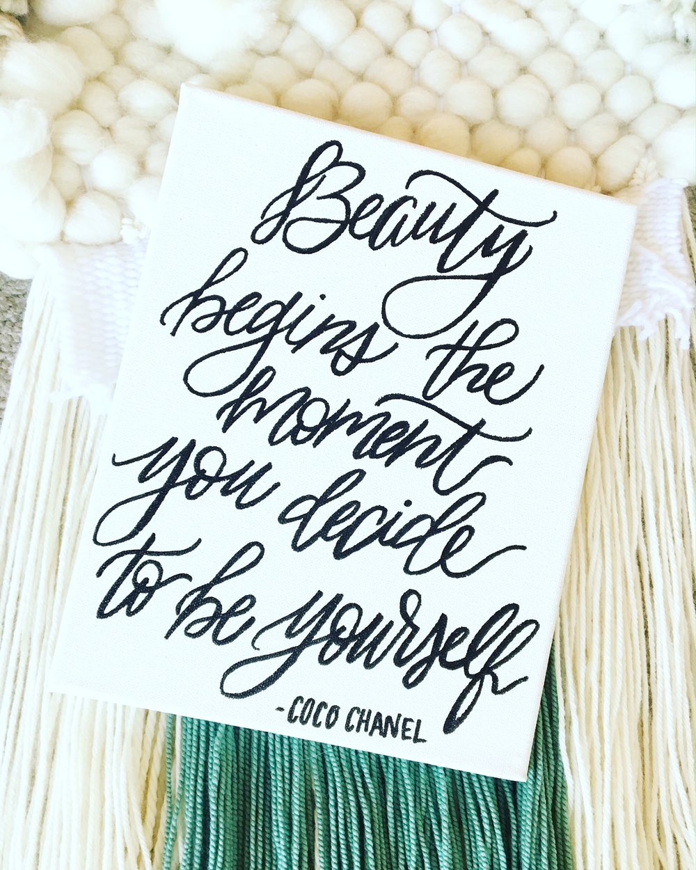Beauty Coco Chanel Canvas.png