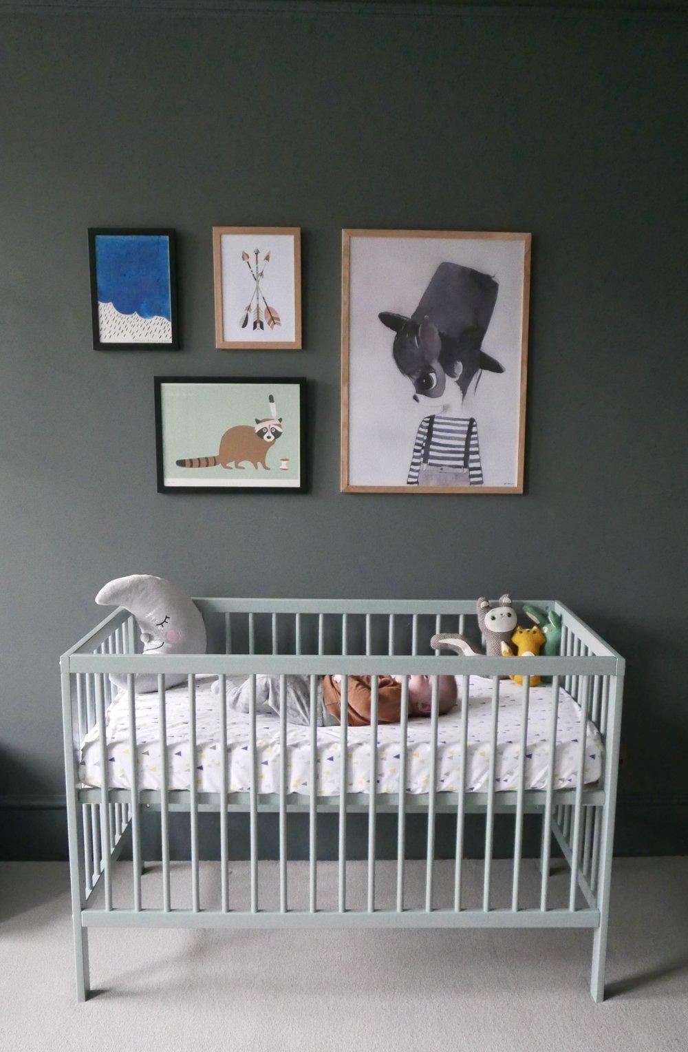 Nursery Mokee cot