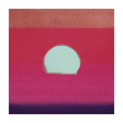 Sunset - Warhol 1972.  These are about to consume my creative life.
