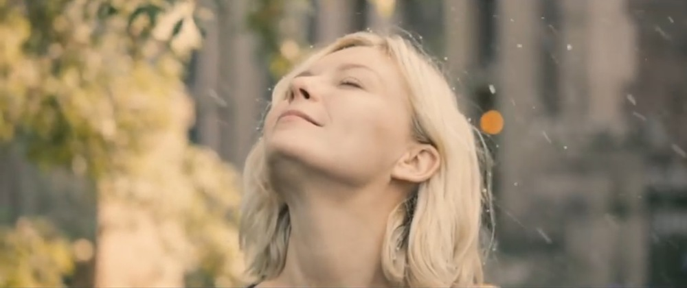"Image is screenshot from film ""Melancholia"