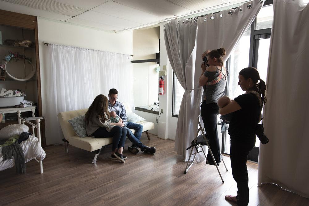 Brittany Gamblin Photography #thefairfour Quadruplet Newborn Photo Session