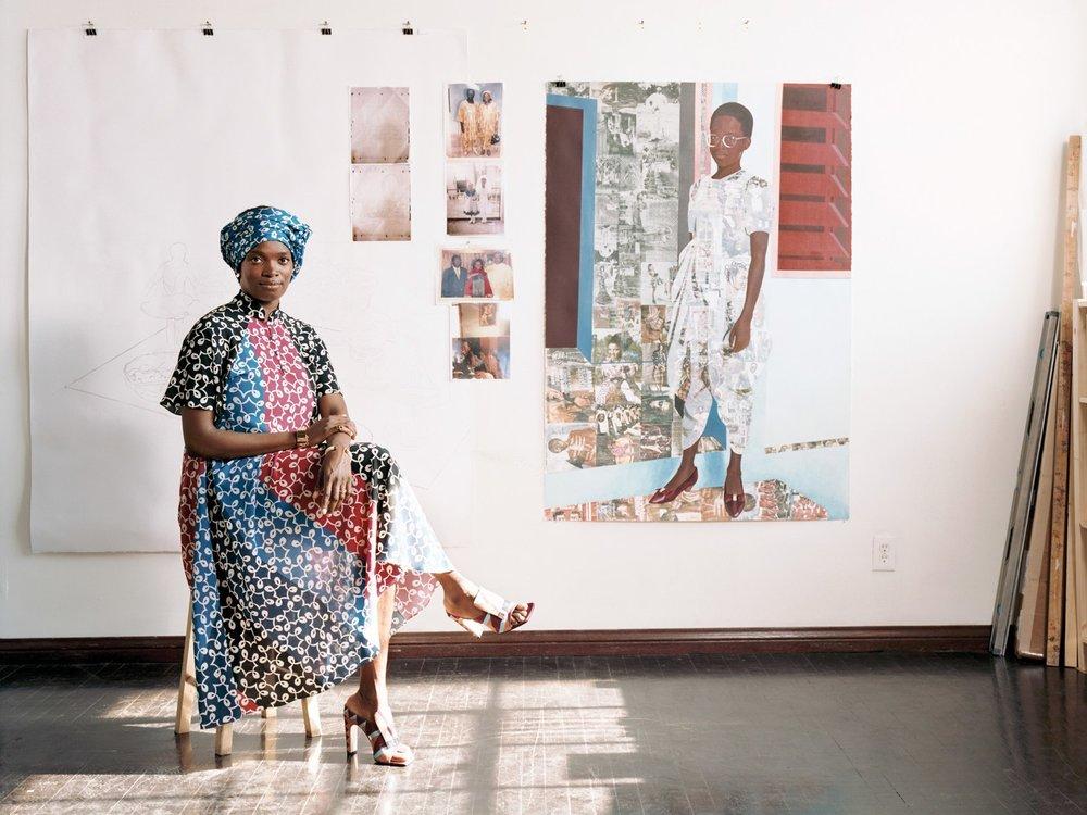 SFMoMA Artist Interview - Njideka Akunyili Crosby