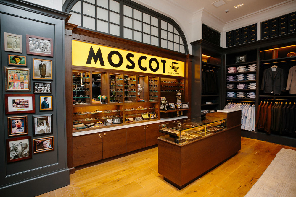 Moscot In Store Shop