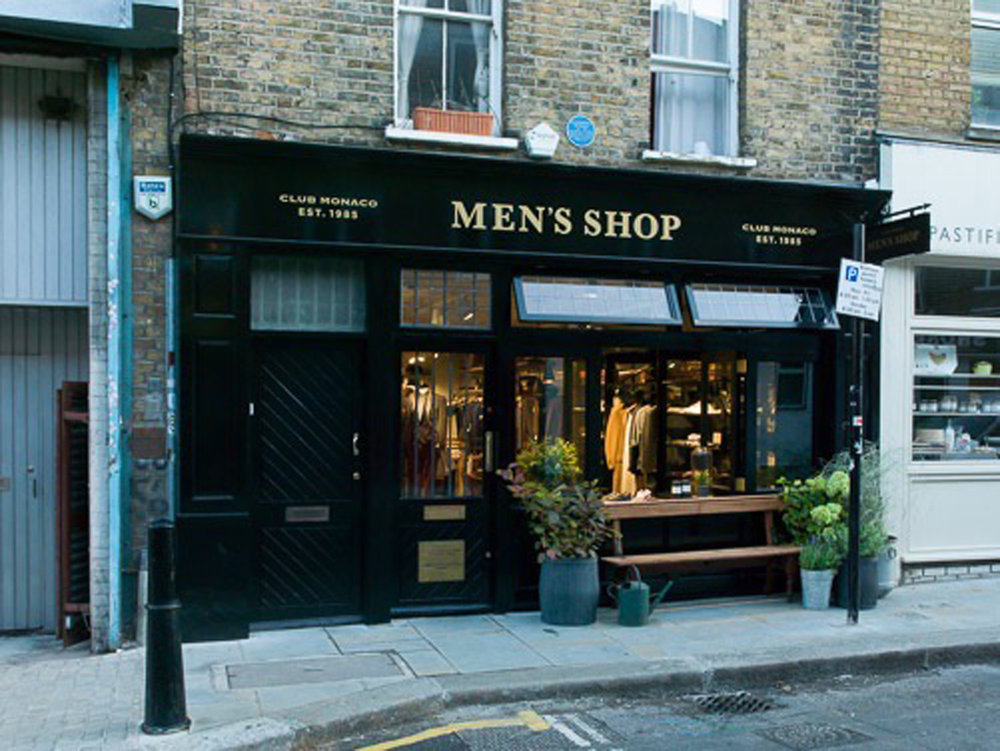 Club Monaco Men's Shop - Shoreditch, London