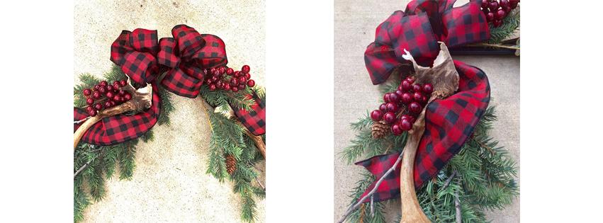 urban cottage living | frame wreath | wreath frame | diy wreath | christmas wreath | christmas decor | small house living