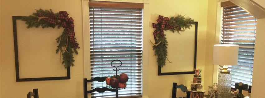 urban cottage living | frame wreath | wreath frame | christmas wreath | diy wreath | christmas decor | small house living