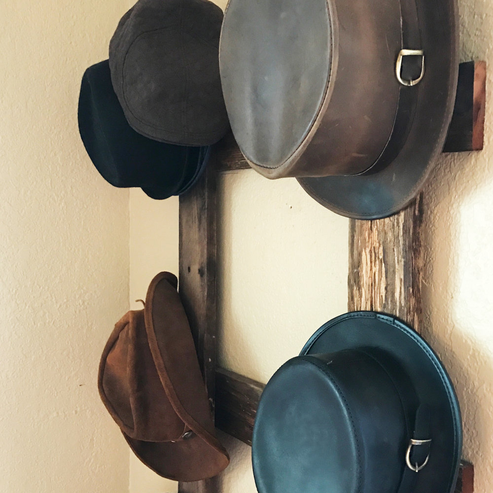 Rustic Hat Rack