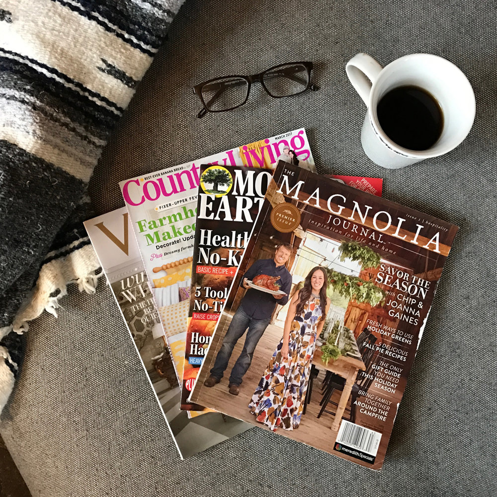 5 Clutter-Free Ways to Keep Magazine ideas