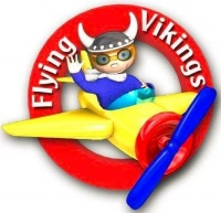 To donate to the Flying Vikings, please click on logo to get to their site.