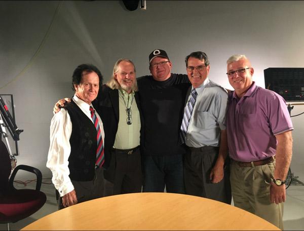 From left to right: Jimmy Horowitz, Don Hale, Jason Van Sickel, Ron Clark, Paul Hansen