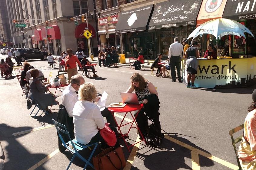 Pedestrian Mall -