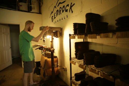 Dan drilling soles.