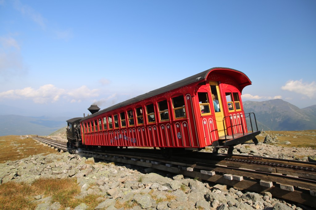 Mt.Washington without the walking!
