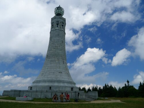 MA's all seeing eye tower atop Greylock.